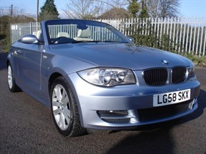 used BMW 120i 2.0 SE Convertible, BMW Service History,  in bristol