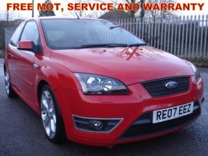 used Ford Focus 2.5 ST-3, Service History, Leather Upholstery,  in bristol