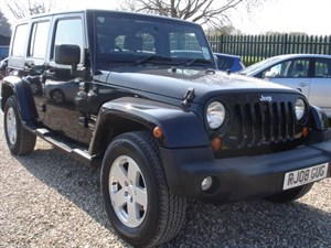 used Jeep Wrangler 2.8 SAHARA UNLIMITED DIESEL AUTOMATIC in bristol