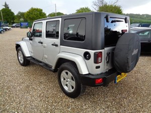 used Jeep Wrangler SAHARA UNLIMITED in bristol