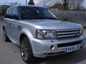 used Land Rover Range Rover Sport TDV8 SPORT HSE, SAT NAV, Black Leather, in bristol