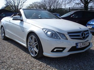 used Mercedes E350 3.0 CDI BLUEEFFICIENCY SPORT CONVERTIBLE in bristol