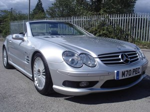 used Mercedes SL55 AMG 5.4 SL55 AMG KOMPRESSOR LOW MILEAGE, SAT NAV in bristol