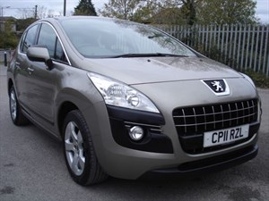 used Peugeot 3008 1.6 HDi SPORT DIESEL AUTOMATIC,  in bristol
