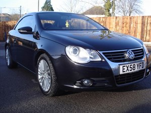 used VW Eos 2.0 TDI SPORT 140 DIESEL COUPE CONVERTIBLE, FULL LEATHER,  in bristol