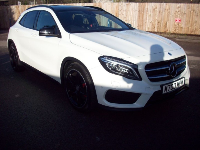 used Mercedes 220 GLA220 CDI 4MATIC AMG LINE PREMIUM PLUS in bristol