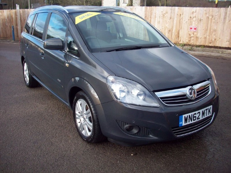 used Vauxhall Zafira DESIGN CDTI in bristol