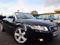 Used Audi A4 Cabriolet TFSI S Line 2dr
