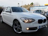 Used BMW 118i 1 SERIES Sport 5dr BLUETOOTH-HEATED LEATHER-BMWSH