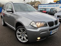 Used BMW X3 2.0d M Sport 5dr 4WD