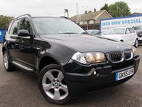 Used BMW X3 2.5i SE 5dr Auto SAT/NAV, TV, LEATHER, BMWSH