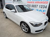 Used BMW 118i 1 SERIES Sport 5dr Step Auto ONE OWNER