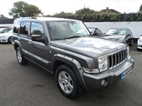 Used Jeep Commander CRD Limited 5dr 4WD