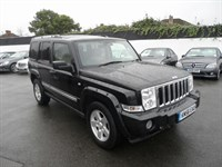 Used Jeep Commander CRD Limited 5dr 4WD SAT NAV / SUNROOF 7 SEATS