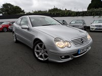 Used Mercedes C220 C CLASS TD CDI SE 2dr £3,690 WORTH OF OPTIONS