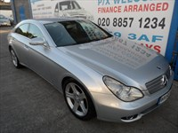 Used Mercedes CLS320 CDI CLS 4dr Tip Auto SAT/NAV-LEATHER