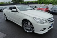 Used Mercedes E220 E CLASS CDI BlueEFFICIENCY Sport Edition 125 7G-Tronic Plus 2dr (start/stop)