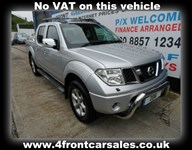 Used Nissan Navara ** NO VAT SAT NAV & LEATHER
