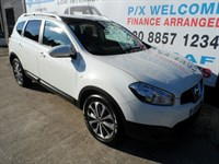 Used Nissan Qashqai+2 TD Tekna 5dr 4WD, 7SEATER, AUTOMATIC
