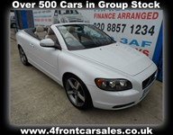 Used Volvo C70 D S 2dr Powershift FULL BEIGE HEATED LEATHER