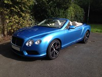 Used Bentley Continental GTC V8 Mulliner Driving Spec 2dr Auto Cabriolet