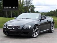 Used BMW M6 V10 SMG 2dr Cabriolet 7 Speed Auto