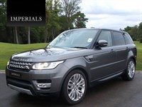 Used Land Rover Range Rover Sport SD (s/s) HSE 5dr 4WD 7 SEATER 8 SPEED VAT Q