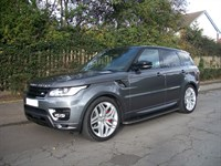 Used Land Rover Range Rover Sport SDV6 Autobiography Dynamic 5dr Auto 8 SPEED