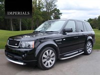 Used Land Rover Range Rover Sport SDV6 HSE 5dr Auto FULL AUTOBIOGRAPHY STYLING