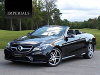 Used Mercedes E350 E Class CDI BlueTEC AMG Line 9G-Tronic Plus 2dr