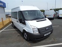 Used Ford Transit 300 MWB 9STR BUS 125(PS) @ our Gorseinon Branch