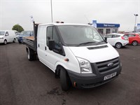 Used Ford Transit 350 LWB Double Cab Utility Tipper 115(PS) @ our Gorseinon Branch