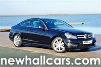 Used Mercedes C250 CDI BLUEEFFICIENCY AMG SPORT COUPE AUTOMATIC (SAT NAV)