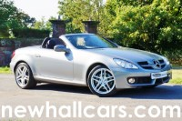 Used Mercedes SLK350 V6 Automatic Convertible with COMAND Satellite Navigation
