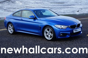 used BMW 420d M SPORT AUTOMATIC COUPE in wirral