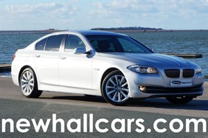 used BMW 525d SE with Sat Nav in wirral