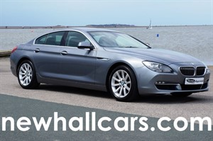 used BMW 640d SE GRAN COUPE in wirral