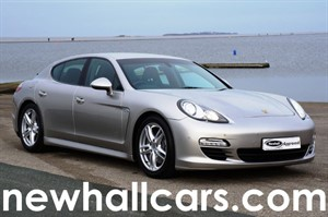 used Porsche Panamera D V6 TIPTRONIC WITH ADAPTIVE AIR SUSPENSION in wirral