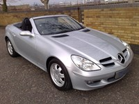 Used Mercedes SLK200 SLK K Convertible Auto SAT NAV/LEATHER TRIM