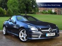 Used Mercedes SLK200 BlueEFFICIENCY AMG Sport Edition 125