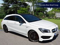 Used Mercedes CLA45 AMG