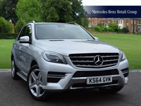 Used Mercedes ML250 BlueTEC AMG Line