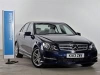 Used Mercedes C220 CDI BlueEFFICIENCY AMG Sport