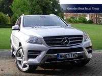 Used Mercedes ML350 BlueTEC AMG Sport