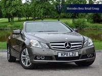 Used Mercedes E200 CGI BlueEFFICIENCY SE
