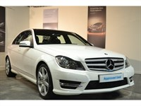 Used Mercedes C220 CDI BlueEFFICIENCY AMG Sport