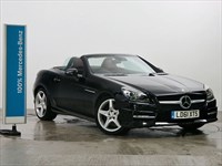Used Mercedes SLK250 BlueEFFICIENCY AMG Sport Edition 125