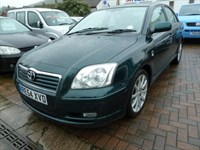 Used Toyota Avensis T Spirit 5dr NEW CLUTCH & FLYWHEEL FITTED