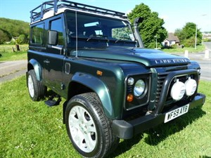 Land Rover Defender COUNTY STATION WAGON ONE OWNER, LOW MILES WITH FSH