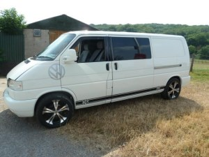 VW Transporter Window Van Turbo